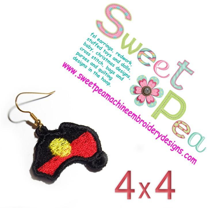 Aboriginal Australia earrings
