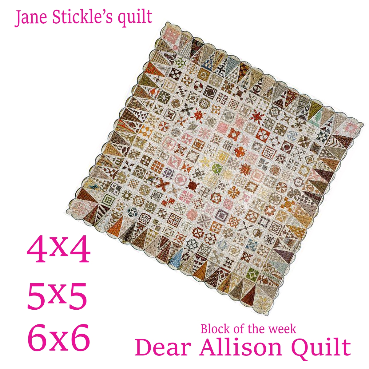 How to add the sashing, borders and binding to the Dear Allison Quilt.