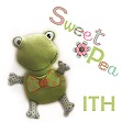 small frog ith in the hoop stuffed toy machine embroidery design
