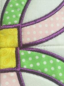 Satin stitching not aligning