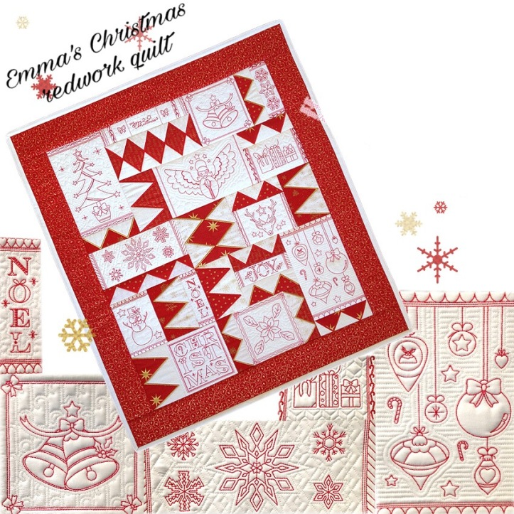 Christmas in July Machine Embroidery Designs