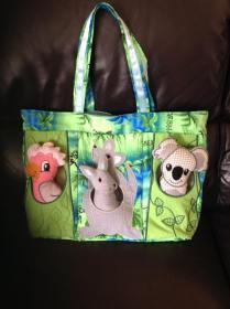 0308 Kathy K Marley Australian Animals bag