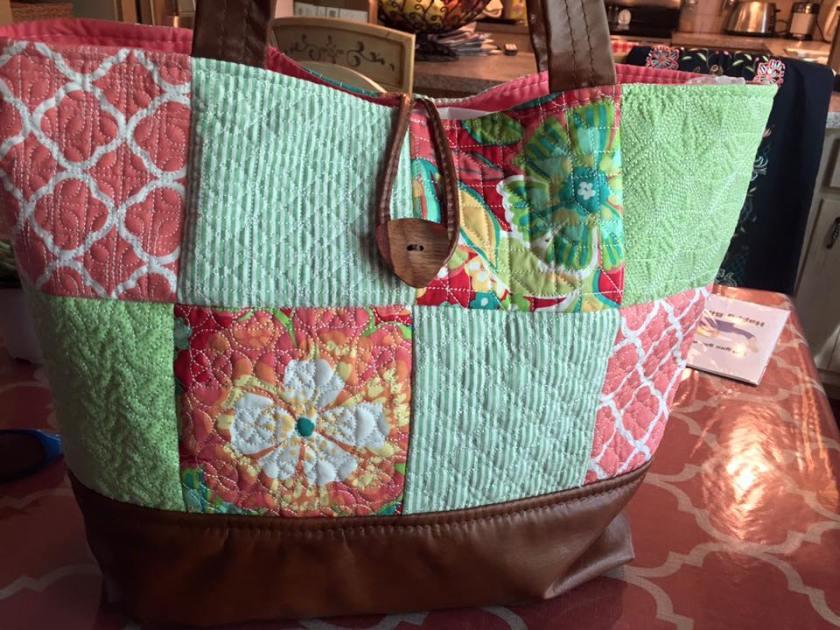 1008 Tammy Singletary Kozior  Geometric tote bag autumn