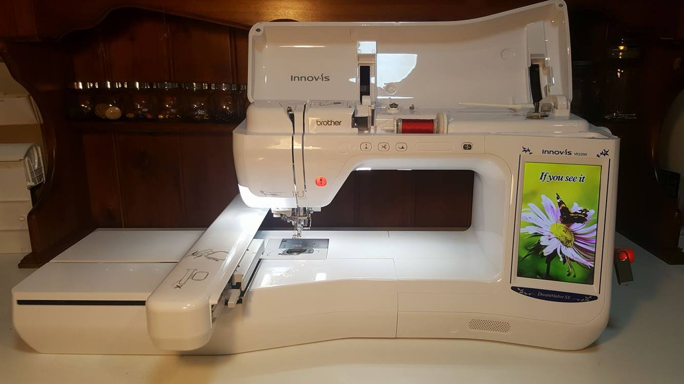 buying embroidery machine