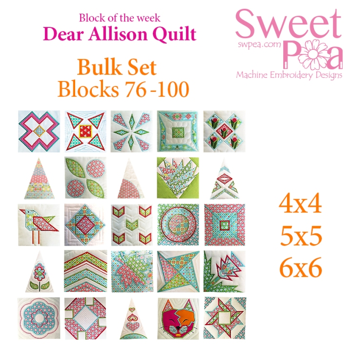 machine embroidery dear allison bulk