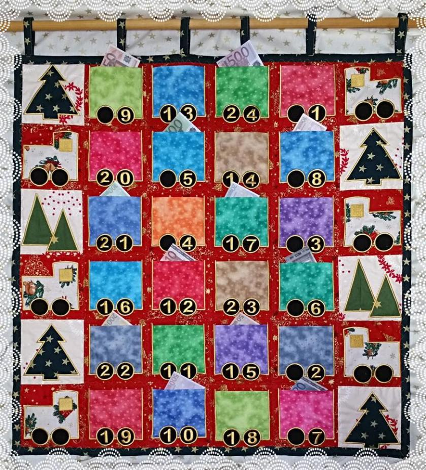 machine embroidery, machine embroidery designs, in the hoop, Christmas, Advent