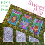 Machine embroidery, machine embroidery designs, in the hoop,