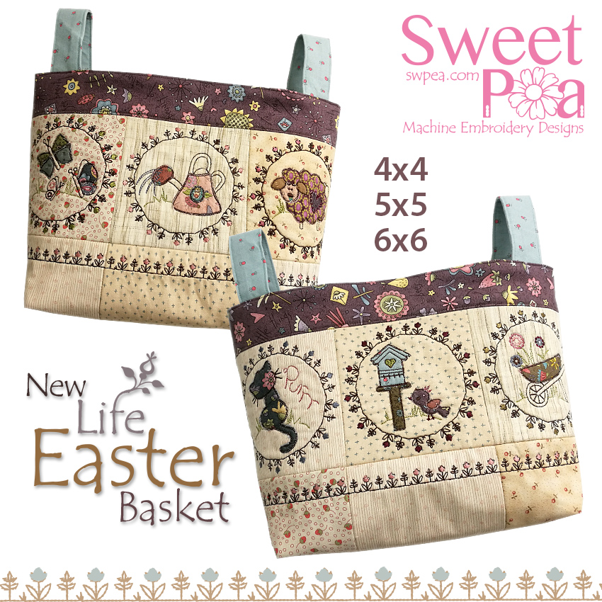 The Winners of our March Easter Sew-a-long